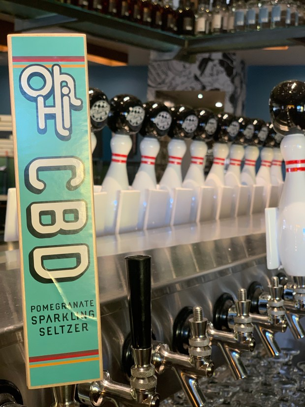 Durango-based Oh Hi makes a CBD-infused, booze-free seltzer, which will be on tap at Ska Street in Boulder. (Doug Brown / For the Camera)