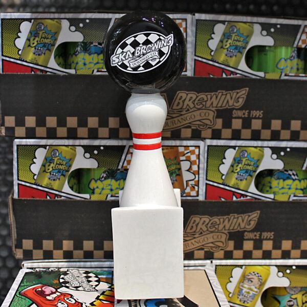 Ska Brewing Bowling Pin Tap Handle