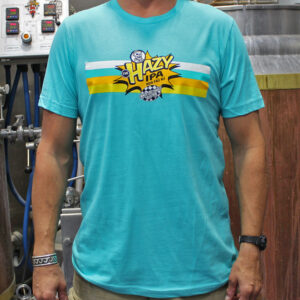 Ska Brewing Hazy IPA Teal Tee