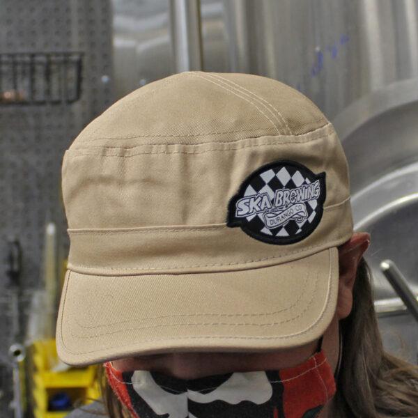 Ska Brewing Tan Castro Cap Hat