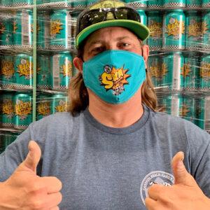 Ska Turquoise mask